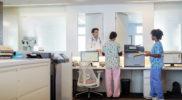 Komplett ausgestattete Zahnarztpraxis mit Server, Notstromversorgung und Backup sowie Drucker, Netzwerktechnik und Arbeitsplätzen in den Behandlungsräumen.